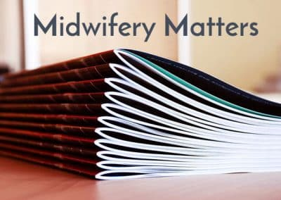 Midwifery Matters Autumn 2017 Issue 154