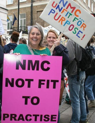 NMC not fit for purpose